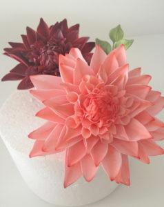 Dahlia Sugar Flower Class