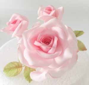 Rose, Buds & Leaves Sugar Flower Course