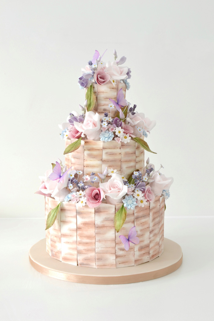 Wedding cakes Kent - Stunning wedding cakes by The Little Sugar Box